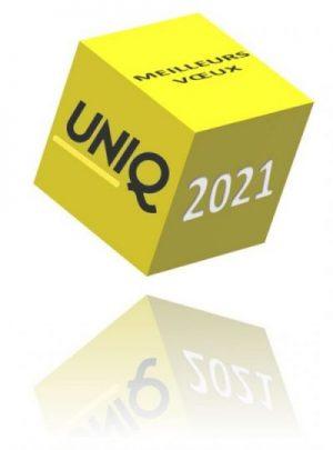 L'UNIQ vous présente ses meilleurs vœux pour 2021